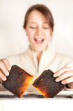 Toast surprise Royalty Free Stock Photography