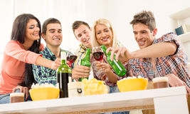 Toast To My Friends Stock Image