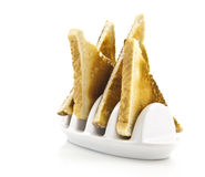 Toast and Toast Rack Royalty Free Stock Images