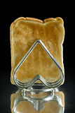 Toast in a Toast Rack Stock Photo