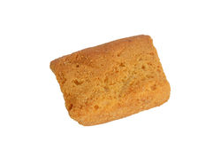 Toast top View. Toast cookies top View Isolated stock photography