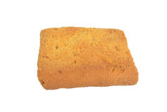 Toast top View. Toast cookies top View Isolated royalty free stock images