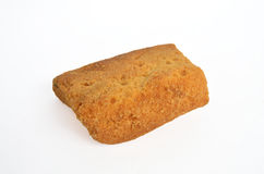 Toast top View. Toast cookies top View Isolated royalty free stock photos