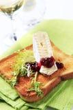 Toast- und Franzosekäse Lizenzfreie Stockbilder