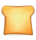 Toast vector illustration Stock Photography