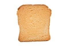 Toast on white Stock Photo