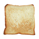 Toast on white background Royalty Free Stock Image
