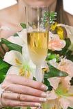 toast za ślub Obrazy Royalty Free