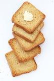 toast za masła Obrazy Royalty Free