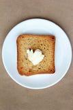 toast za masła Fotografia Royalty Free