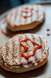 toasted сандвичи Стоковое Изображение RF