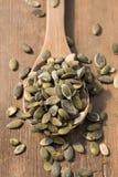 toasted семена тыквы стоковое изображение