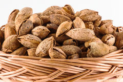 Toasted almonds Royalty Free Stock Image