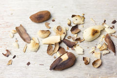 Toasted almonds Stock Images