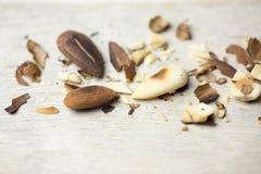 Toasted almonds Stock Photos