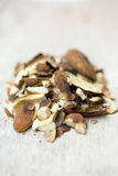 Toasted almonds Stock Photography