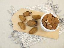 Toasted almonds Stock Photo