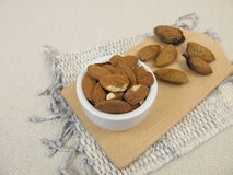 Toasted almonds Royalty Free Stock Photo