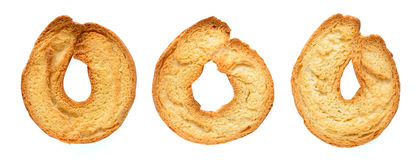 Toasted bagels Royalty Free Stock Photography