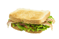 Toasted BLT on white Stock Images