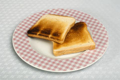 Toasted bread Royalty Free Stock Photos