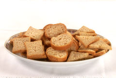 Toasted Bread. Some toasted bread for breakfast stock photos