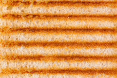 Toasted bread background Royalty Free Stock Images