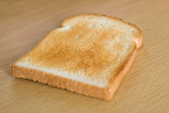 Toasted  bread slice Royalty Free Stock Image