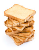 Toasted bread slices Stock Image