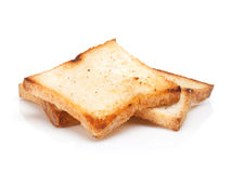 Toasted bread slices Royalty Free Stock Image