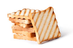 Toasted bread Royalty Free Stock Photos