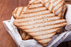 Toasted bread Royalty Free Stock Image