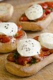 Toasted bruschettas Stock Image