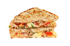 Toasted cheese sandwiches Stock Photography
