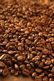 Toasted coffe beans texture Stock Photos