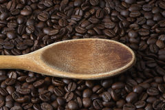 Toasted Coffee Beans Stock Photo