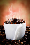 Toasted coffee Royalty Free Stock Images