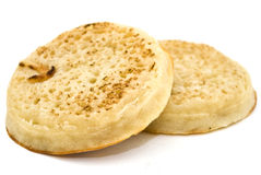 Toasted crumpet Stock Images