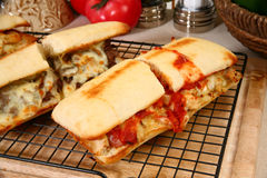 Free Toasted Deli Sandwiches Royalty Free Stock Images - 7823599