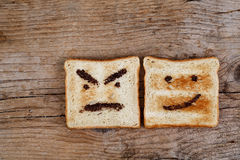 Toasted Emotions Stock Photo