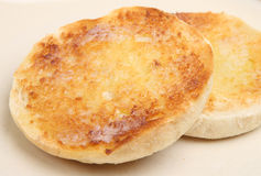 Toasted English Muffin Royalty Free Stock Image