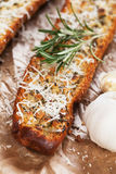 Toasted garlic bread Royalty Free Stock Images
