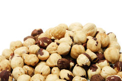 Toasted hazelnuts Royalty Free Stock Image