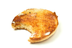 Toasted Muffin Royalty Free Stock Photo
