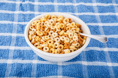 Toasted Oat Breakfast Cereal Stock Photos