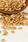 Toasted Pumpkin Seeds Royalty Free Stock Image