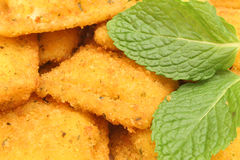 Toasted ravioli Stock Photography