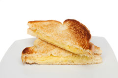 Toasted sandwich Stock Photography