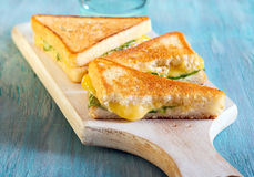 Toasted sandwiches Royalty Free Stock Photography