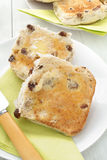 Toasted Teacakes Royalty Free Stock Images